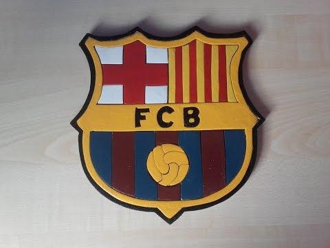 Jak Zrobić Herb FC Barcelony? / How To Make Herb FC Barcelona?