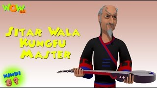 Sitar Wala Kungfu Master - Motu Patlu in Hindi - 3D Animation Cartoon for Kids