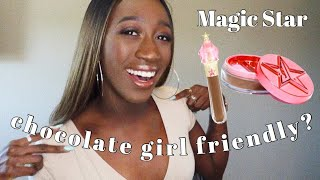 Magic Star Concealer and Setting Powder Review | Chocolate Girl Friendly?