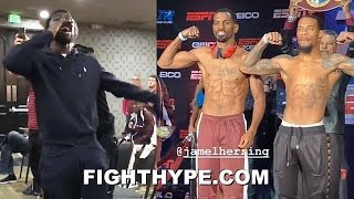 TERENCE CRAWFORD GETS HYPE AS JAMEL HERRING & LAMONT ROACH JR. WEIGH-IN & FACE OFF