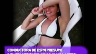 ¡CONDUCTORA DE ESPN PRESUME INFARTANTE BlKlNl ¡COMO NUNCA ANTES!
