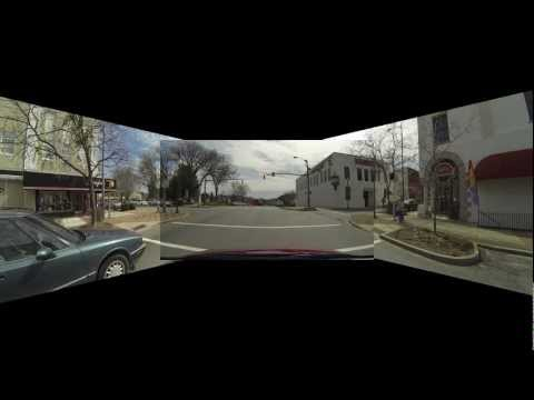 Morganton NC Tour - Three Camera View - Part 2