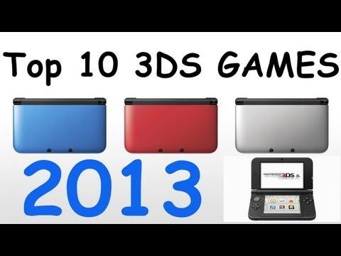 Top 10 3DS Games 2013 HD