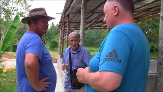 BRIAN SHOWS MICHAEL HIS BIG PIGGERY LIVELIHOOD  BUSINESS IN THE PHILIPPINES