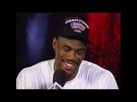 David Robinson - 1999 NBA Championship Interview (ESPN)
