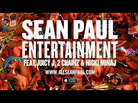 Sean Paul - Entertainment 2.0 Remix Ft. Juicy J, 2 Chainz, & Nicki Minaj [official Audio] video