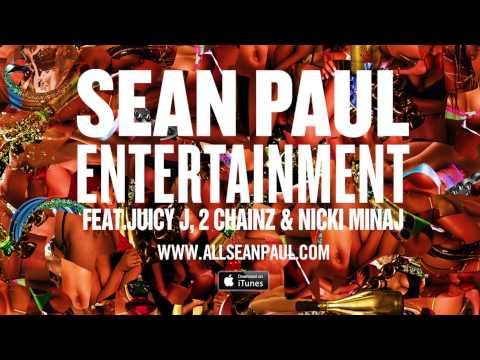 Sean Paul - Entertainment 2.0 Remix Ft. Juicy J, 2 Chainz, & Nicki Minaj [official Audio] video