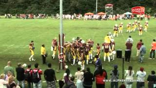 Alphen Eagles - Amsterdam Crusaders (08-07-2012)