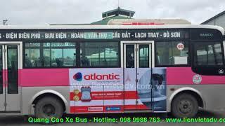 Quang cao xe Bus Hai Phong