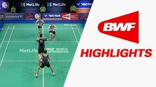 Danisa Denmark Open 2017   Badminton SF – Highlights