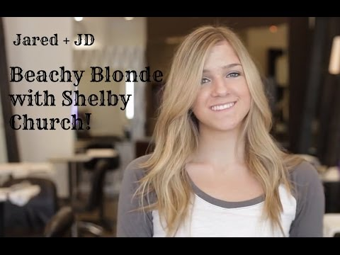 Beachy Blonde Hair Color Makeover with Teenmakeuptips