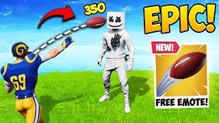 FREE NFL EMOTE FUNNY MOMENTS! - Fortnite Funny Fails and WTF Moments! #459