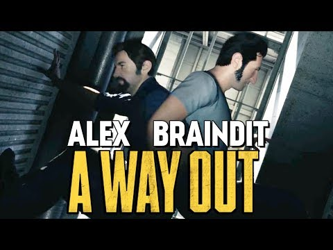 ГЕНИАЛЬНО! СБЕГАЕМ ИЗ ТЮРЬМЫ? - A Way Out #3