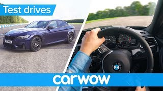 BMW M3 Competition Package POV review | Test Drives