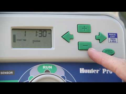 Webbtraining1 - Hunter Pro C Irrigation Control Timer