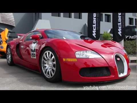 RED HOT! Bugatti Veyron at Targa Trophy