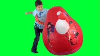 BIG HERO 6 SURPRISE EGGS | Toy Unboxing Videos | Baymax, Hiro, Supergiant | Princesses In Real Life