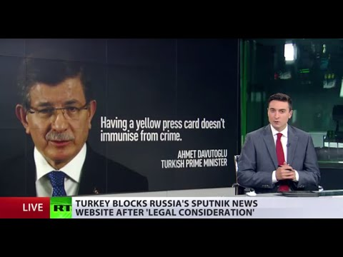 'Access denied': Turkey blocks Russian Sputnik news website after 'legal consideration'