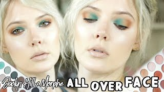 JACLYN HILL MORPHE PALETTE FULL FACE TUTORIAL AND REVIEW