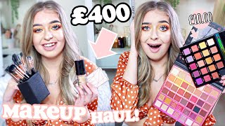 SIS SHE AIN'T PLAYING... I got £400 worth of MAKEUP for how MUCH?! HUGE BEAUTYBAY MAKEUP HAUL! ad