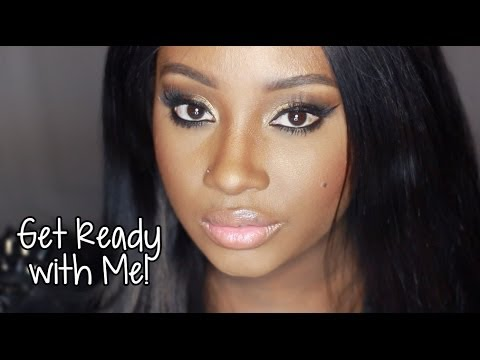 Get Ready with Me   The Golden BEAT!  (Makeup)