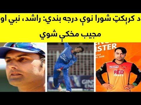 Rashid Khan, Mohammad Nabi And Mujeeb Zadran In ICC T20 Ranking 2018 | ICC New T20 Ranking 2018