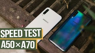 Speed Test Samsung Galaxy A50 vs A70: Ai thực sự đáng mua hơn?