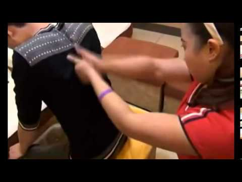 A Chinese Back Massage Innovative video