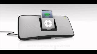 Logitech s315i Rechargeable iPod speakers - Designed by Design Partners