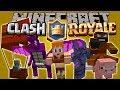 CLASH OF MOBS MOD - Clash Of clanRoyal en Minecraft