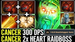 MEGA TANKER RAIDBOSS Delete Cancer PL Build with Radiance Crazy Imba Necrophos Gameplay dota 2