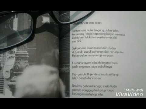 Puisi Sarapan Sebelum Tidur