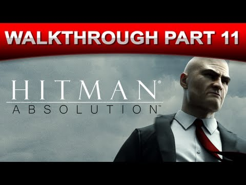 Hitman: Absolution Stealth Walkthrough Gameplay - Part 11 (HD 1080p)