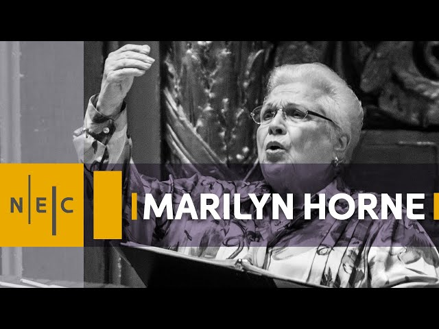 A Masterclass with Marilyn Horne