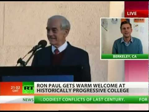 Ron Paul at UC Berkeley