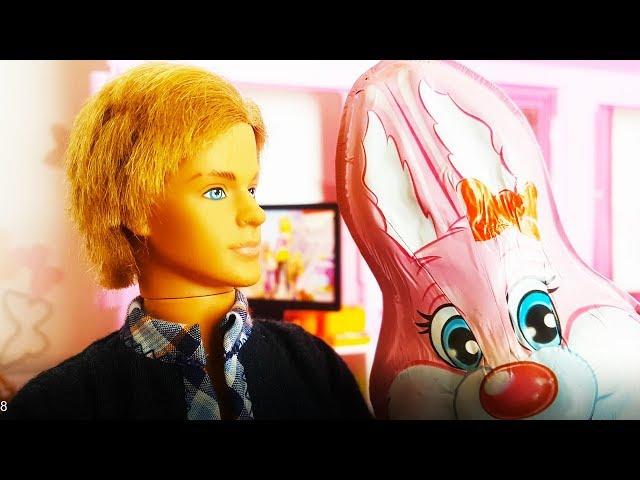 BARBIE PO POLSKU - KEN ZOSTANIE YOUTUBEREM!? KINDER NIESPODZIANKA - zabawki bajki dla dzieci