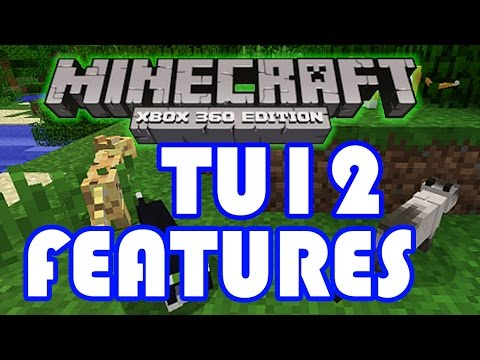 TU12 Info, Features & Release Date - Minecraft Xbox 360 | Title Update News