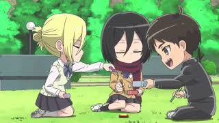 AOT Annie X Eren X Mikasa MV (I Wanna Know- Bea Miller) *Read Desc*