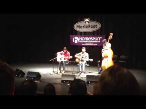 The Avett Brothers Merlefest 2013 Songwriters Workshop.  Untitled new song.