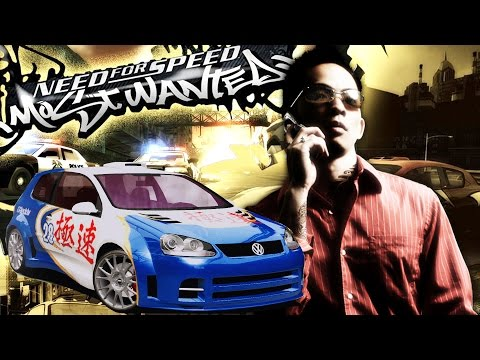 #2 Zagrajmy W Need For Speed: Most Wanted 2005 - Sonny - GOLF GTI - 60 FPS