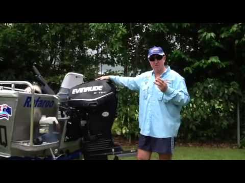 Evinrude Etec 40hp direct injection 2 stroke outboard engine