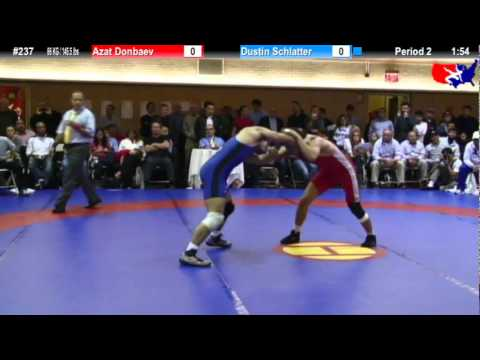 NYAC FS 66 KG / 145.5 lbs: Azat Donbaev vs. Dustin Schlatter