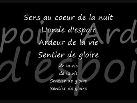 Les Choristes - Vois Sur Ton Chemin - Lyrics video