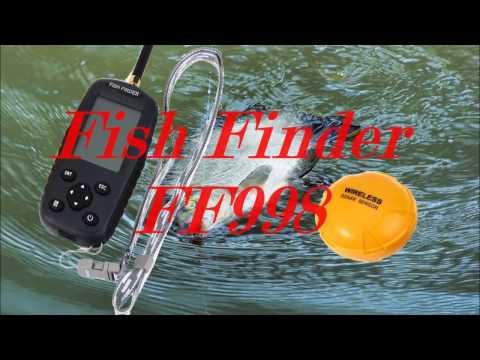 видео рыбалка с беспроводным эхолотом