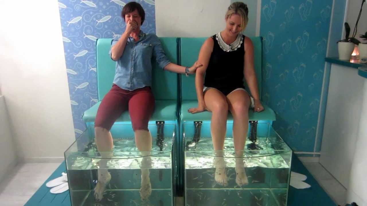 Foot And Spa Therapy With Fish