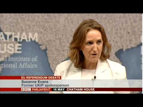 Harriet Harman Vs Suzanne Evans - The EU Referendum