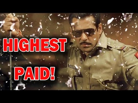 Salman Khan Is The Highest Paid Tv Host! | Bollywood News video