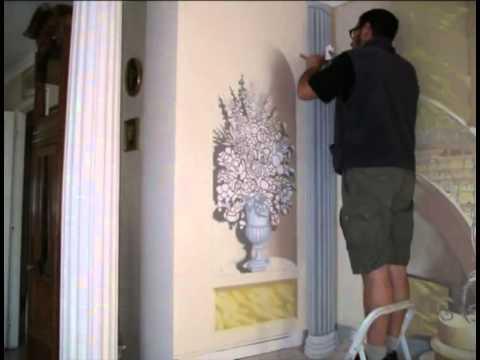 le peintre du trompe l 39 oeil youtube. Black Bedroom Furniture Sets. Home Design Ideas