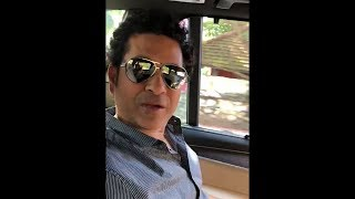 Sachin Tendulkar Facebook Video - Special Message For Fans