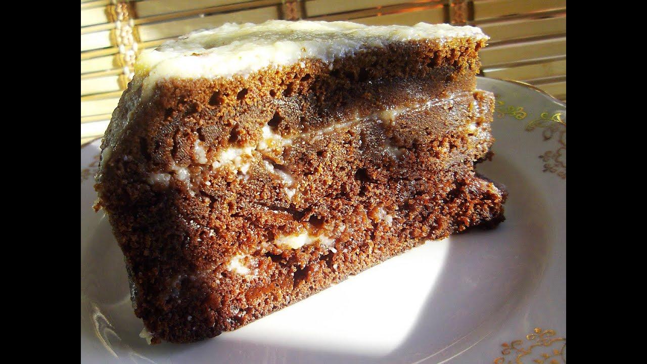 Торт с шоколадной пастой рецепт с фото